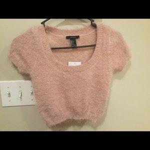 Small short sleeve sweater